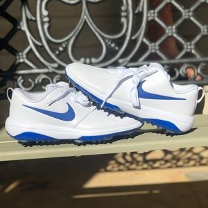 Nike Roshe Tour White / Indigo Golf Shoes 9.5 11